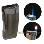 The Emerald Adjustable Flame Lighter - Cigar Accessories