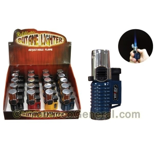 The Galaxy Triple Flame Torch Lighter Display of 20