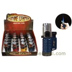 The Galaxy Triple Flame Torch Lighter Display of 20 - Cigar Accessories