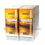 Tijuana Smalls Aromatic Tipped Cigars 10 Packs of 10