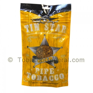 Tin Star Gold Pipe Tobacco 3 oz. Pack