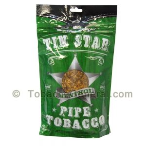 Tin Star Menthol Pipe Tobacco 3 oz. Pack
