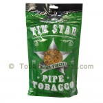 Tin Star Menthol Pipe Tobacco 3 oz. Pack - All Pipe Tobacco