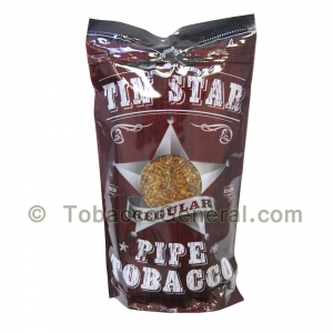 Tin Star Regular Pipe Tobacco 8 oz. Pack