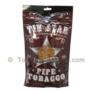 Tin Star Regular Pipe Tobacco 3 oz. Pack