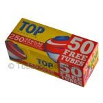 Top Premium Filter Tubes King Size Regular (Full Flavor) 4 Cartons of 250