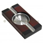 Two Cigar Ashtray Rectangle