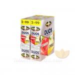 White Owl Duos Strawberry/Lemonade Cigarillos 99c Pre Priced 30 Packs of 2