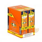 White Owl Peach Cigarillos 99c Pre Priced 30 Packs of 2