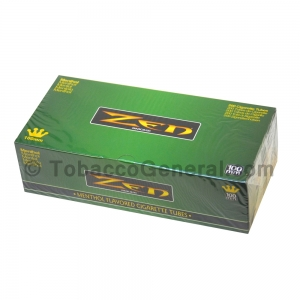 Zen Filter Tubes 100 mm Menthol 1 Carton of 200