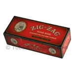 Zig Zag Filter Tubes King Size Original (Full Flavor) 5 Cartons of 200