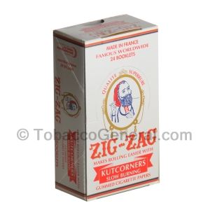 Zig Zag Papers Kutcorner Slow Burning 24 Pack