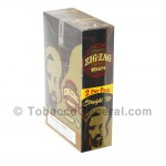 Zig Zag Wraps Premium Straight Up 25 Packs of 2 - Tobacco