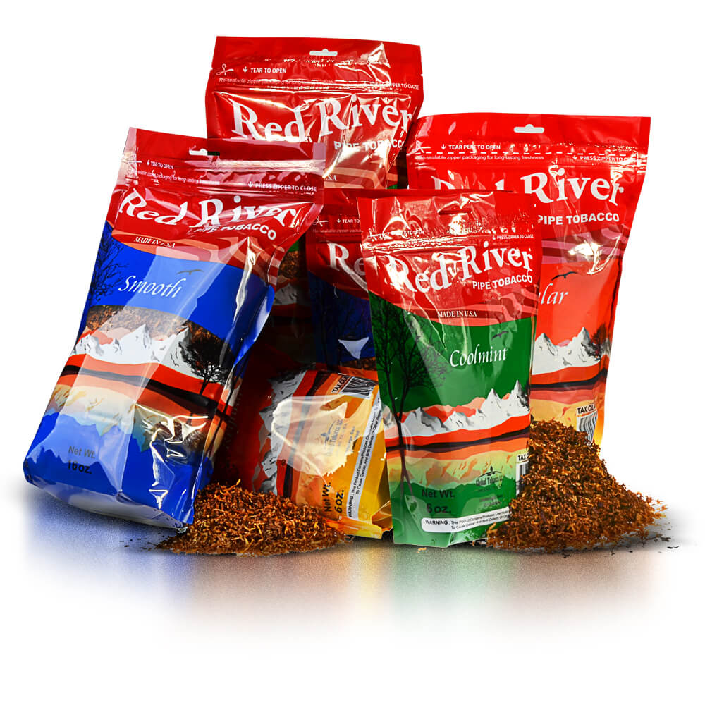 Red River Pipe Tobacco Lowest Price at Tobacco General Image